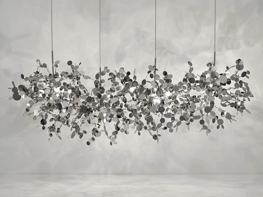 Halogen metal pendant lamp ARGENT | Metal pendant lamp by TERZANI