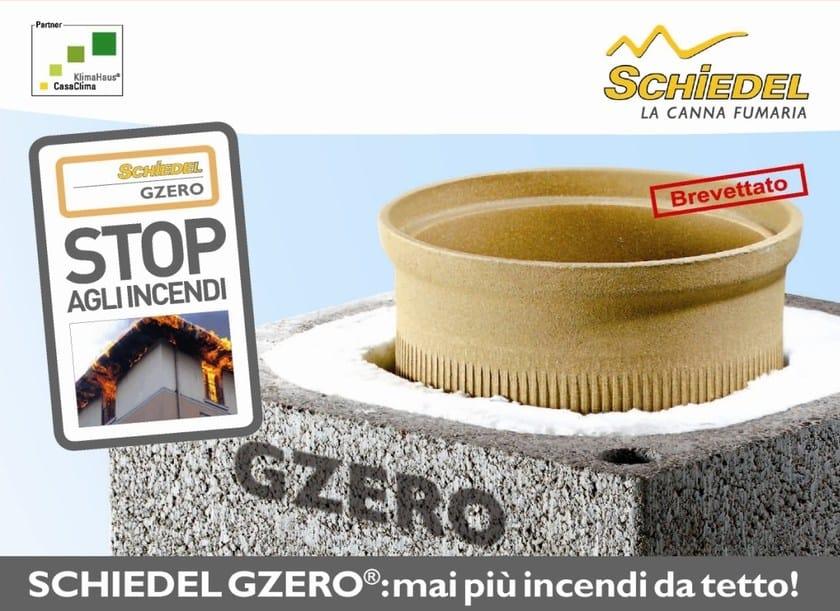 Refractory ceramic flue SCHIEDEL GZERO by Schiedel