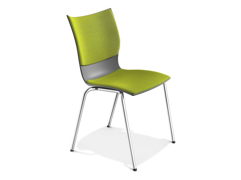 Stackable plastic chair ONYX III | Stackable chair by Casala
