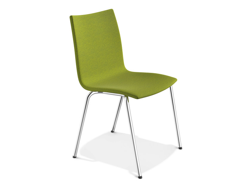 Stackable fabric chair ONYX III   Fabric chair by Casala