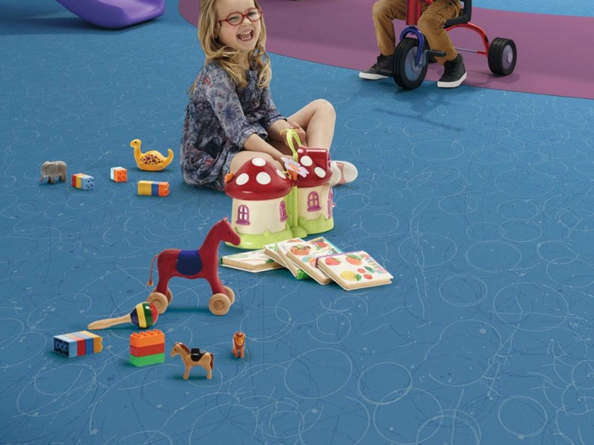 Resilient vinyl flooring TAPIFLEX EXCELLENCE 65 by TARKETT