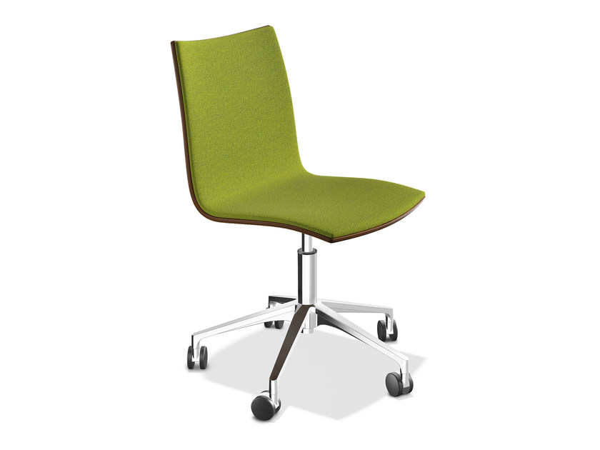 Upholstered chair with 5-spoke base ONYX IV | Upholstered chair by Casala