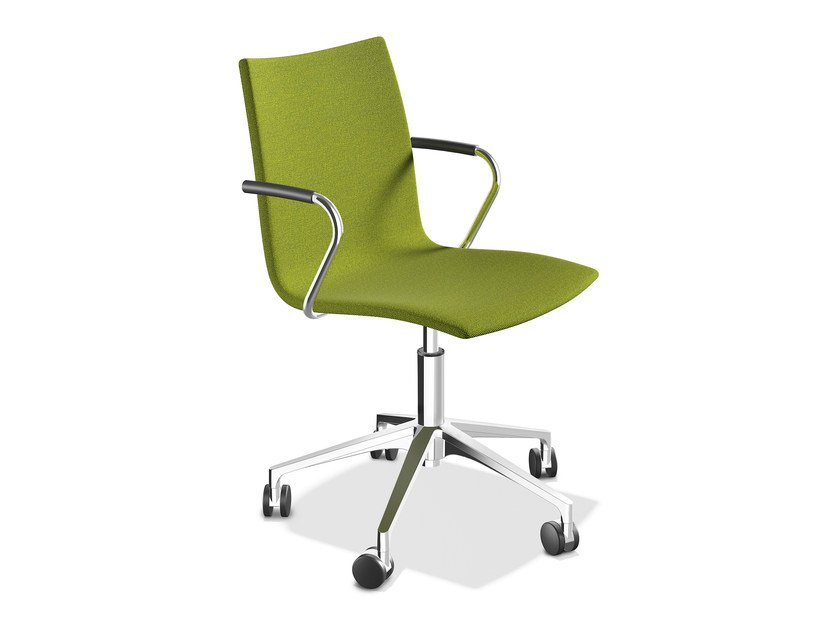 Upholstered chair with armrests ONYX IV | Upholstered chair by Casala