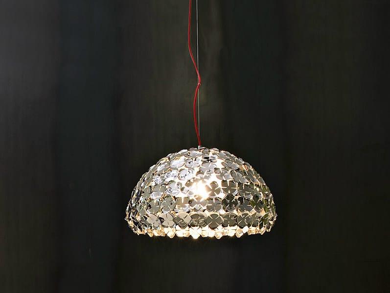 Halogen metal pendant lamp ORTEN'ZIA | Pendant lamp by TERZANI