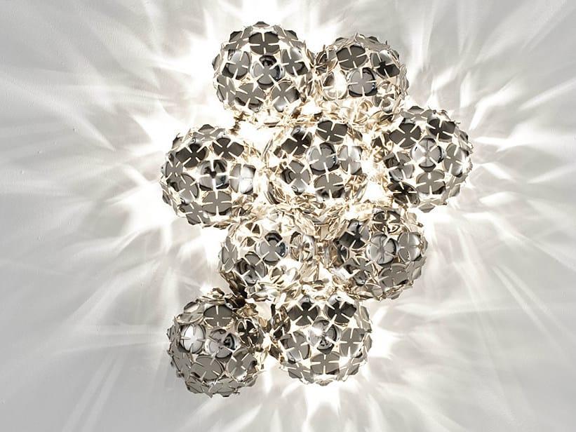 Halogen metal wall light ORTEN'ZIA | Wall light by TERZANI