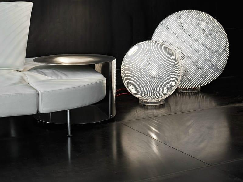 Metal table lamp / floor lamp MAGDALENA | Table lamp by TERZANI