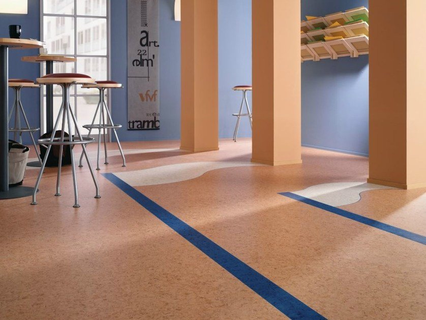 Resilient vinyl flooring iQ Megalit by TARKETT