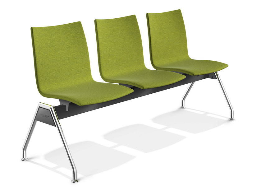 Fabric beam seating ONYX TRAVERSE | Beam seating by Casala
