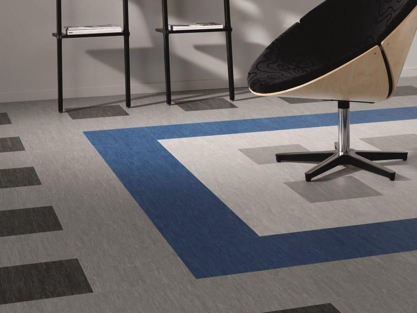 Resilient vinyl flooring VYLON PLUS by TARKETT