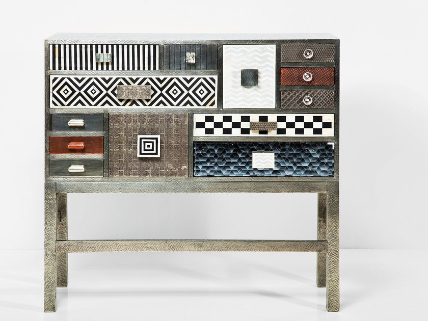 Solid wood sideboard with drawers CHALET | Sideboard by KARE-DESIGN