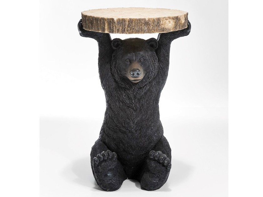 Lacquered round coffee table for living room BEAR | Coffee table by KARE-DESIGN