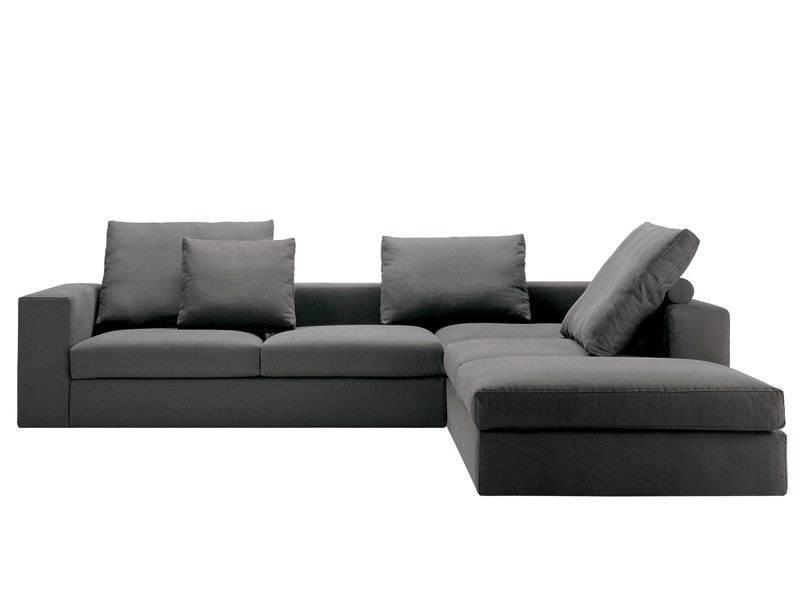 Sofa bed with removable cover BETA by Zanotta