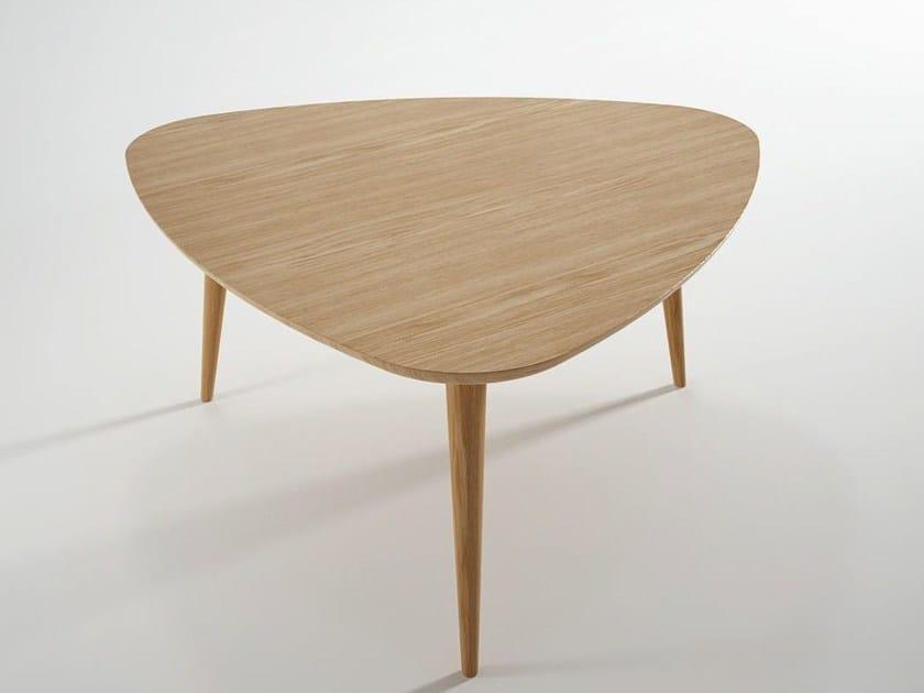 Tavolini Da Salotto Vintage.Tavolino Triangolare In Legno Da Salotto Vintage Tavolino Da