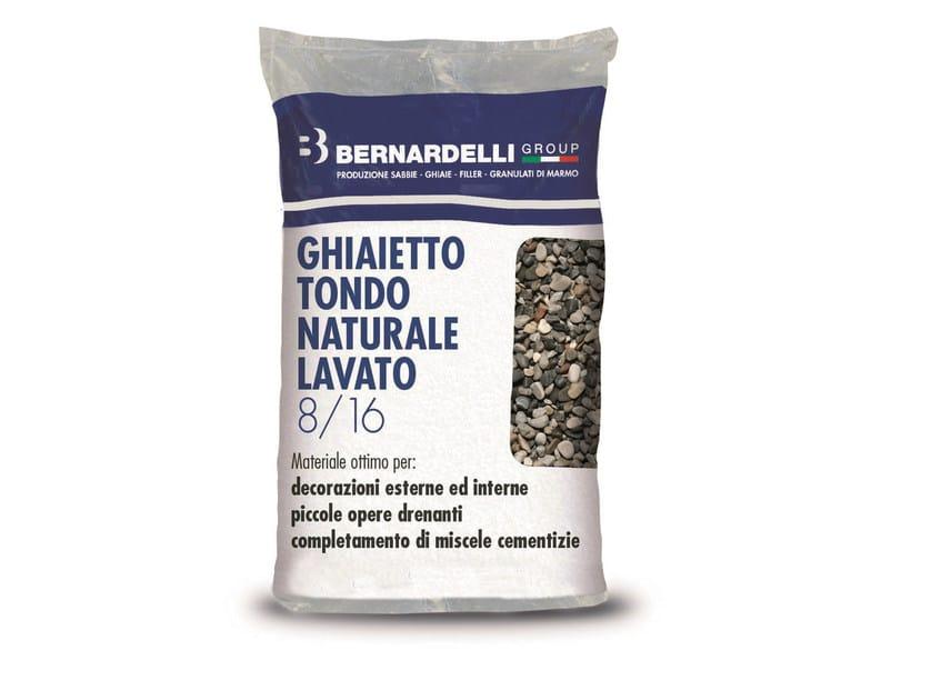 Ghiaietto tondo naturale GHIAIETTO TONDO NATURALE LAVATO 8/16 by Bernardelli Group