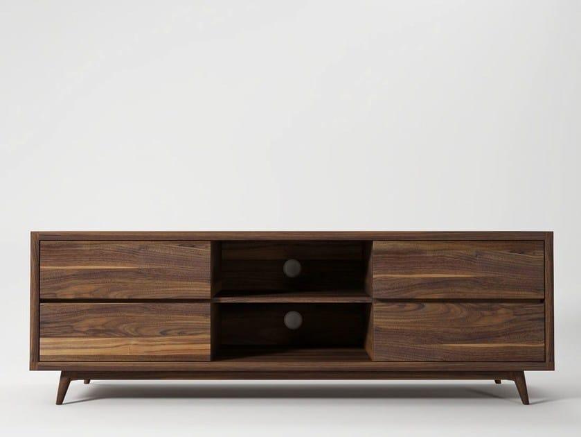 Mobile TV basso in legno VINTAGE | Mobile TV - KARPENTER