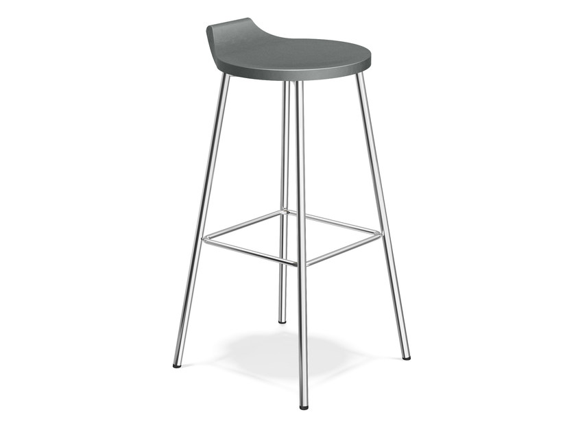 Barstool with footrest RAVELLE III | Barstool by Casala
