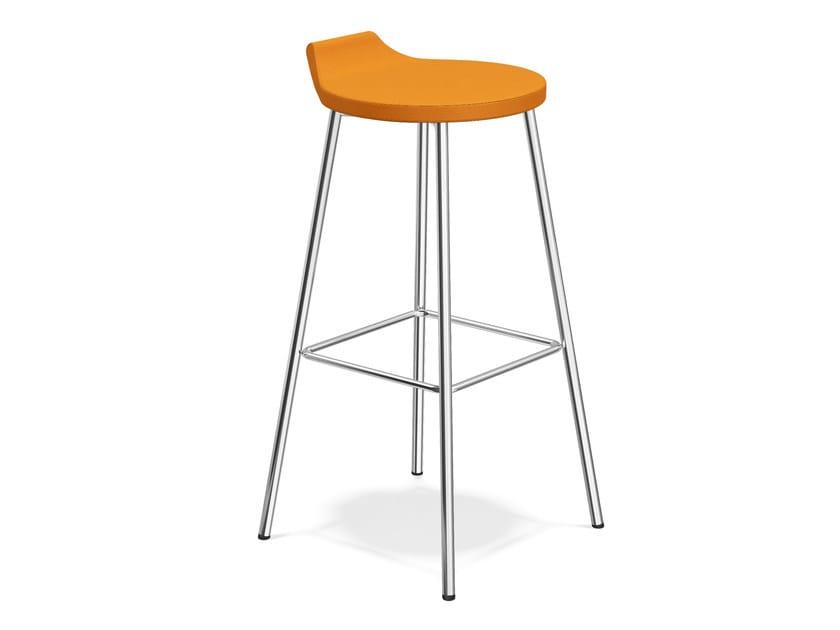 Fabric barstool RAVELLE III   Fabric stool by Casala