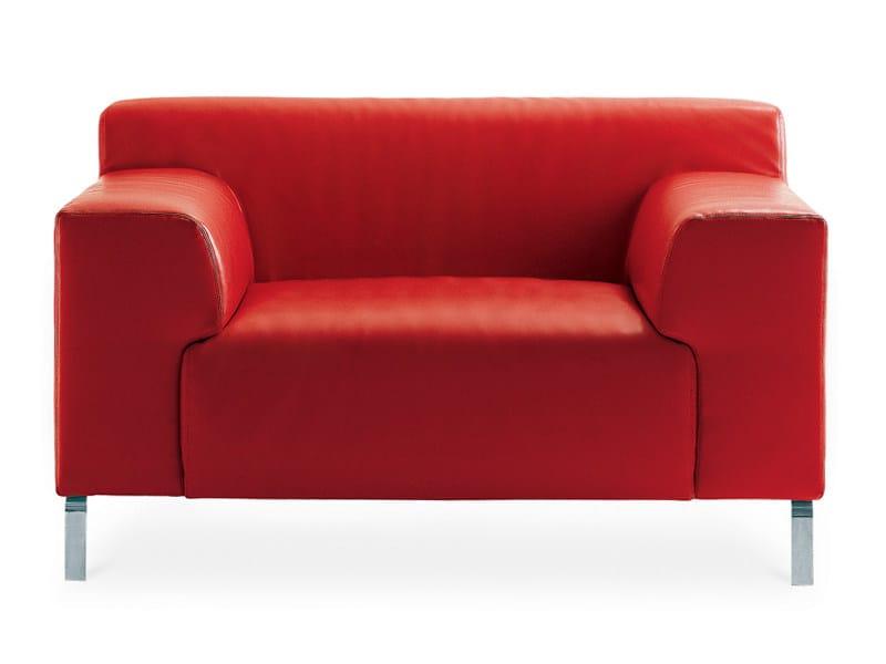 Upholstered armchair GREG   Armchair by Zanotta