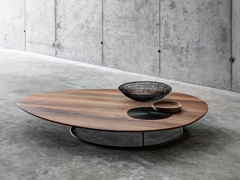 Tavolino basso in legno da salotto SOGLIO - FIORONI