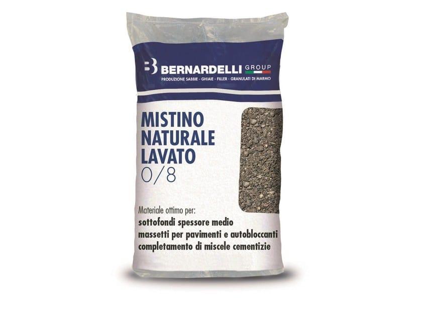 Inerte naturale MISTINO NATURALE LAVATO 0/8 by Bernardelli Group