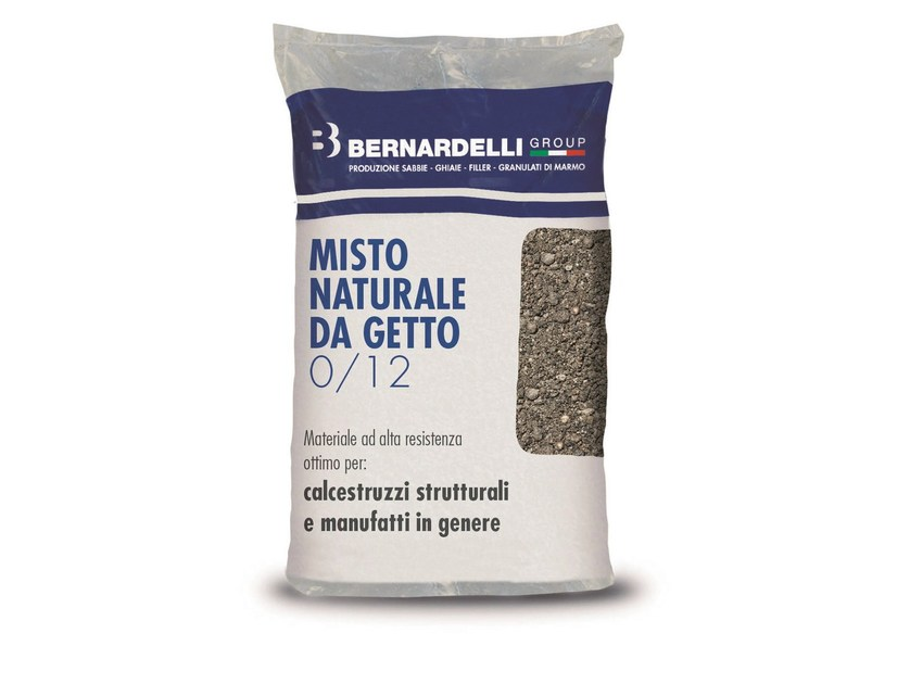 Inerte naturale MISTO NATURALE DA GETTO 0/12 by Bernardelli Group