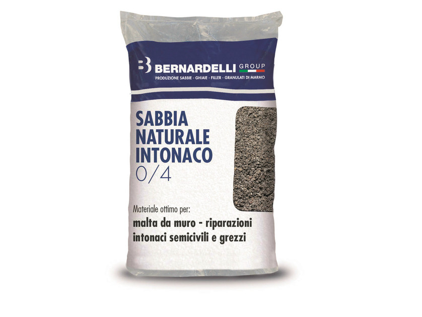 Sabbia di fiume SABBIA NATURALE INTONACO 0/4 by Bernardelli Group