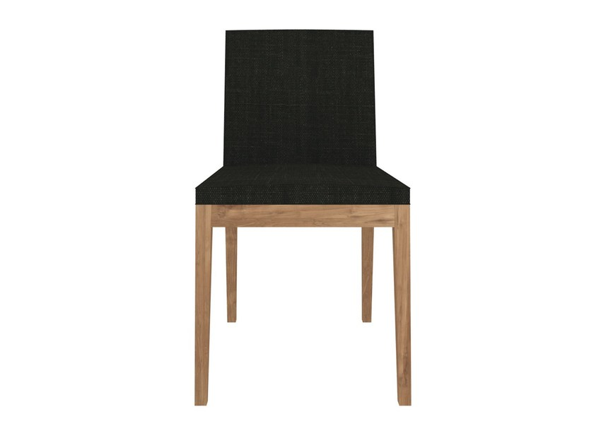 Upholstered teak chair TEAK B1 by Ethnicraft