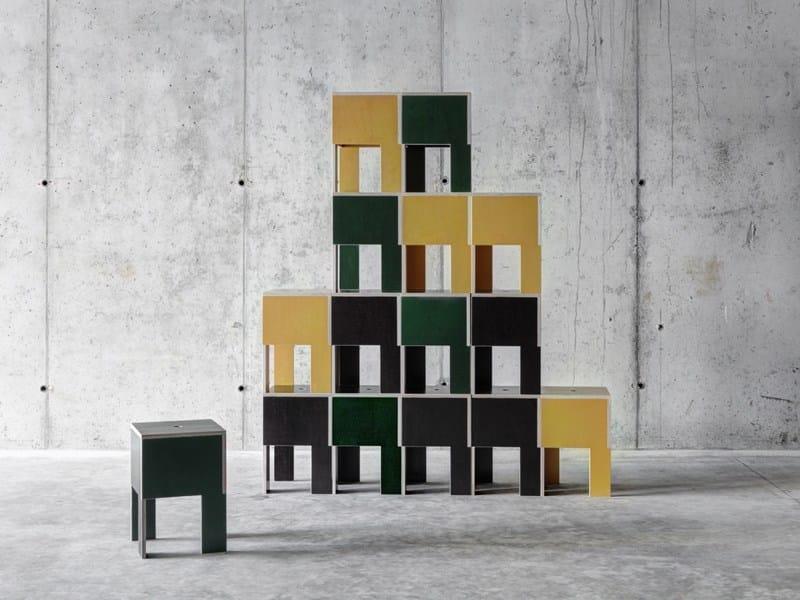 Low resin stool J.M.B.   Stool by FIORONI