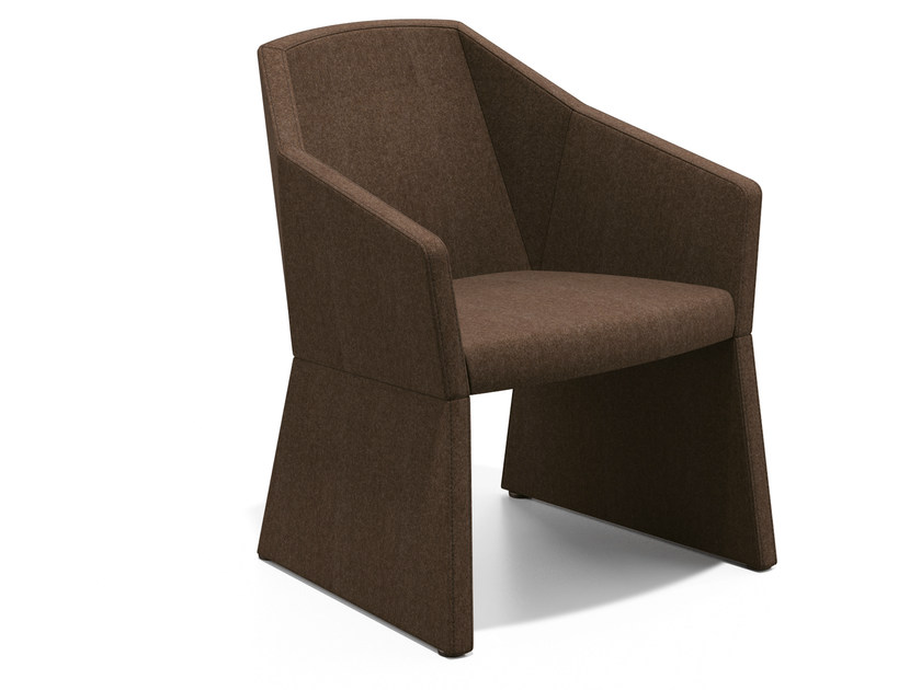 Fabric easy chair with armrests PARKER I | Fabric easy chair by Casala
