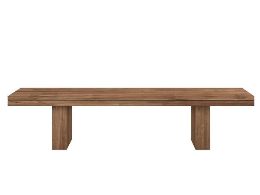 Teak bench TEAK DOUBLE | Bench by Ethnicraft