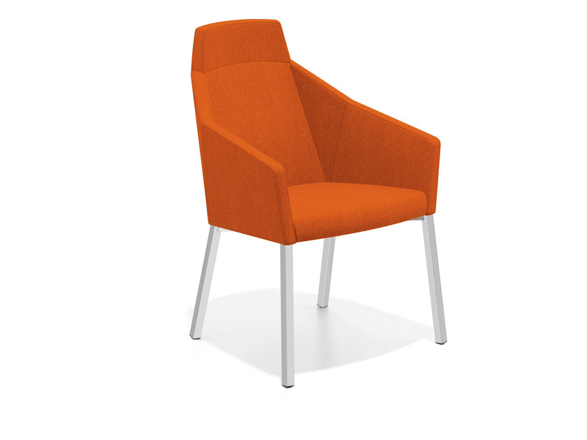 Fabric easy chair high-back PARKER III | Easy chair high-back by Casala