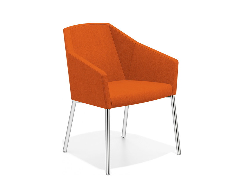 Fabric easy chair with armrests PARKER III | Fabric easy chair by Casala