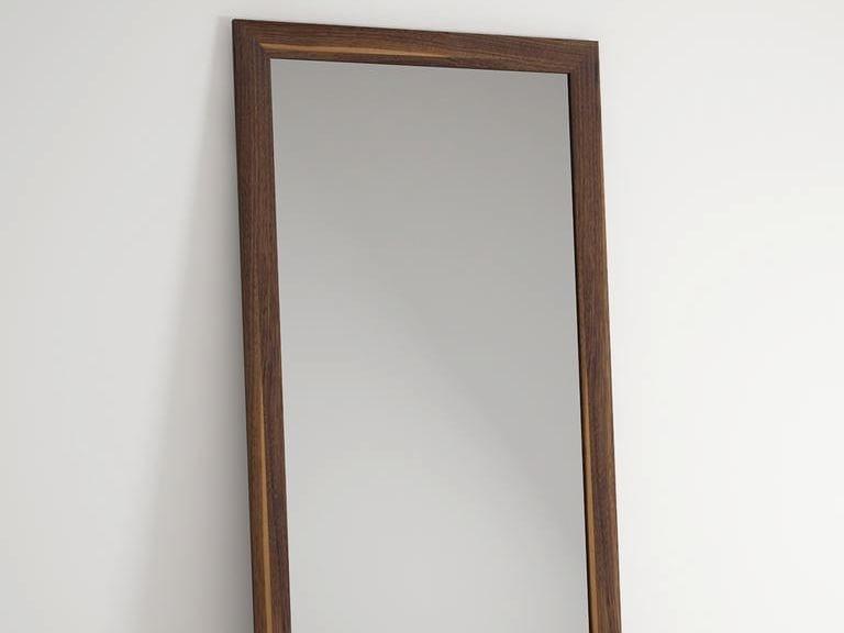 Countertop rectangular framed mirror VINTAGE | Freestanding mirror by KARPENTER