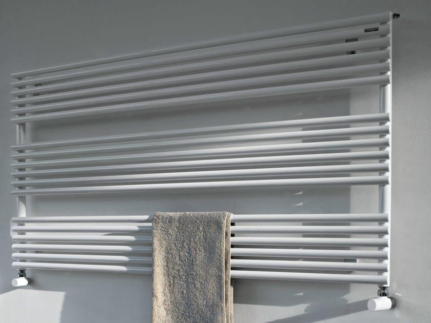 Horizontal wall-mounted towel warmer RITMATO | Towel warmer by Tubes Radiatori