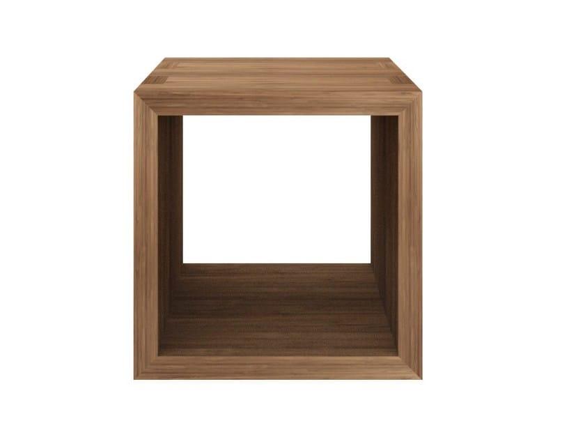 Square teak coffee table TEAK KUBUS | Teak coffee table by Ethnicraft