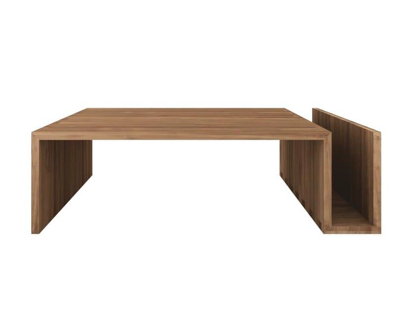 Teak coffee table TEAK KUBUS | Coffee table by Ethnicraft