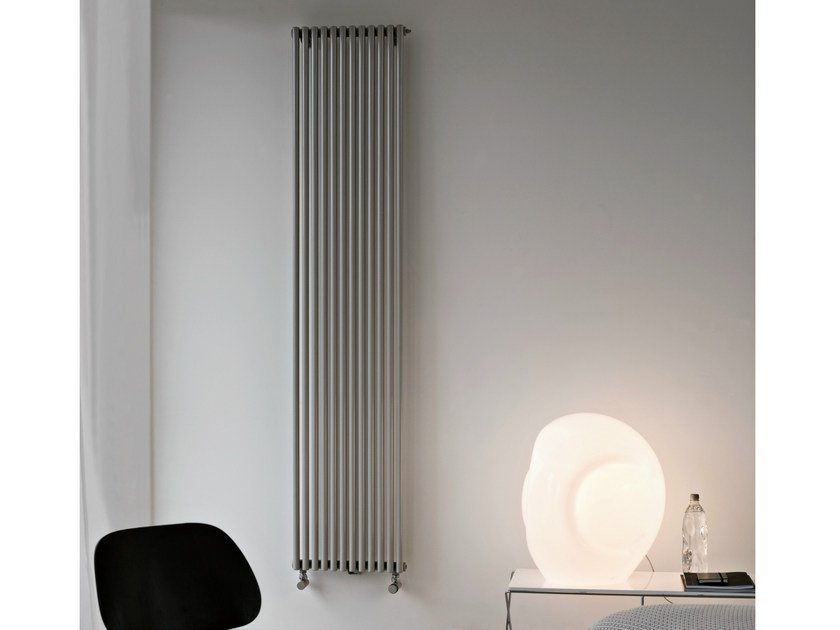 Hot Water Vertical Wall Mounted Decorative Radiator BASICS 25 | Decorative  Radiator By Tubes