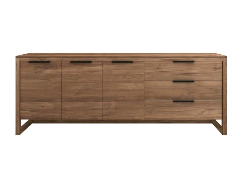 Teak sideboard with drawers TEAK LIGHT FRAME | Sideboard by Ethnicraft