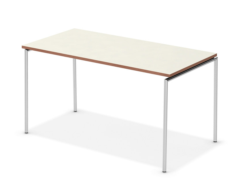 Lacquered rectangular meeting table TAVO NESTABLE | Rectangular meeting table by Casala