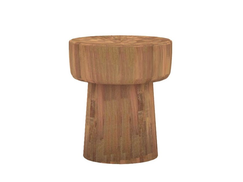 Teak stool / coffee table TEAK POP | Stool by Ethnicraft