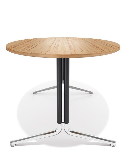 Oval wooden meeting table TEMO | Oval meeting table by Casala