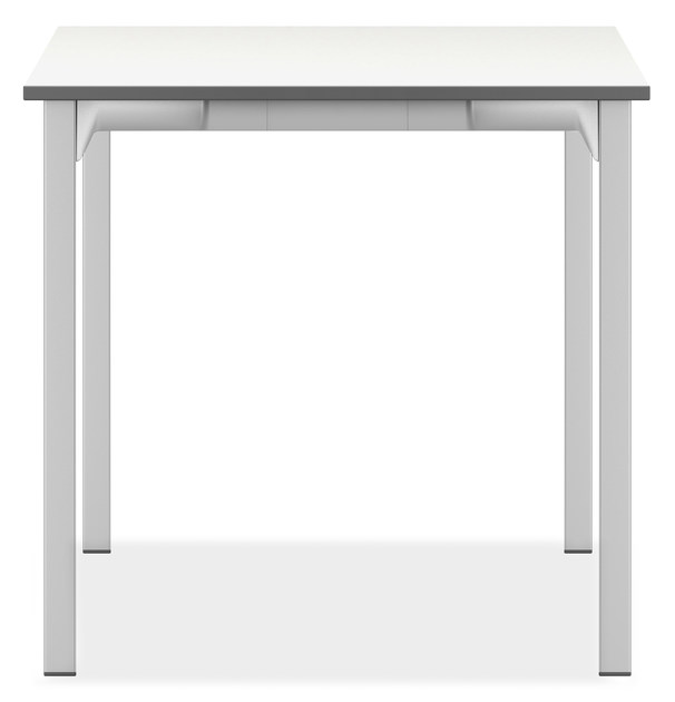 Lacquered square meeting table WISHBONE I | Square meeting table by Casala