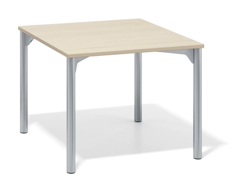 Modular meeting table WISHBONE II by Casala