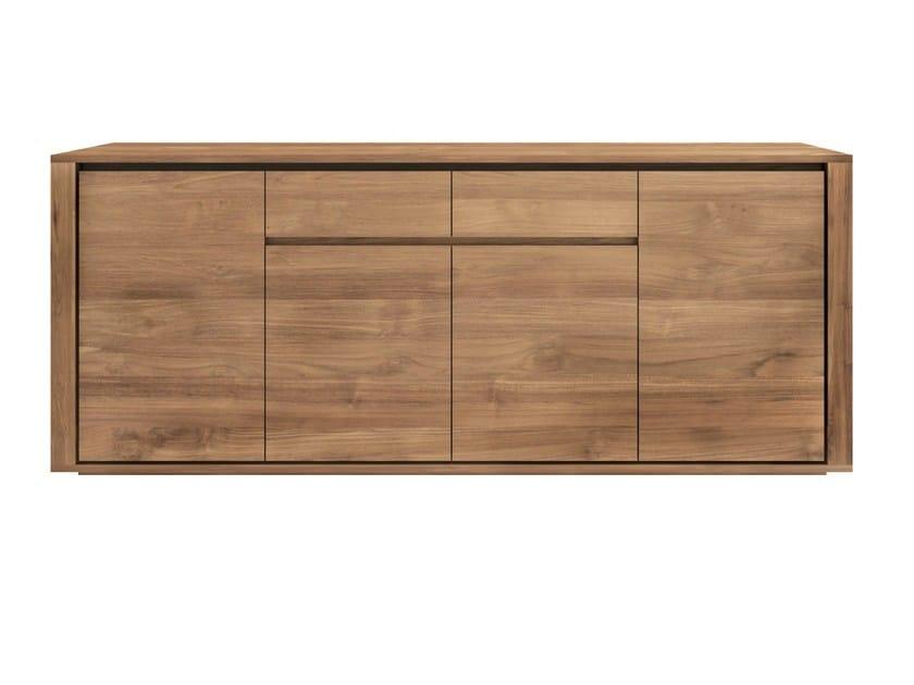 Teak sideboard with doors TEAK ELEMENTAL   Sideboard by Ethnicraft