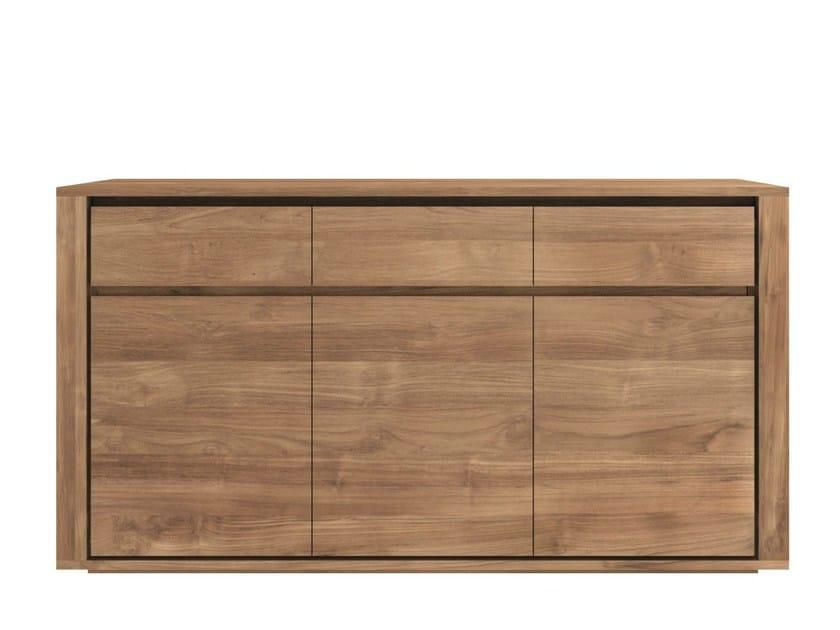 Teak sideboard with doors TEAK ELEMENTAL   Teak sideboard by Ethnicraft