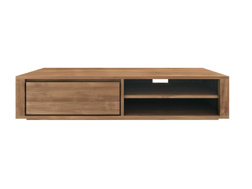Low teak TV cabinet TEAK ELEMENTAL | TV cabinet by Ethnicraft