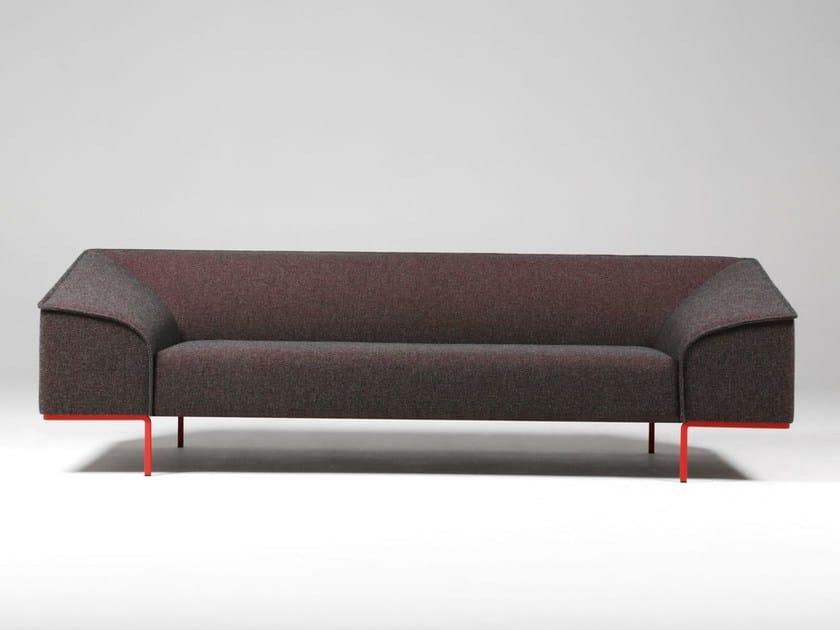 Fabric sofa CONTOUR by prostoria Ltd