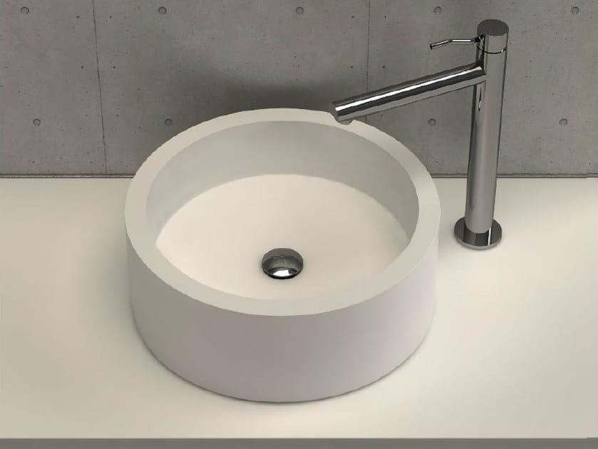 Countertop round washbasin CIRCOLO by DIMASI BATHROOM