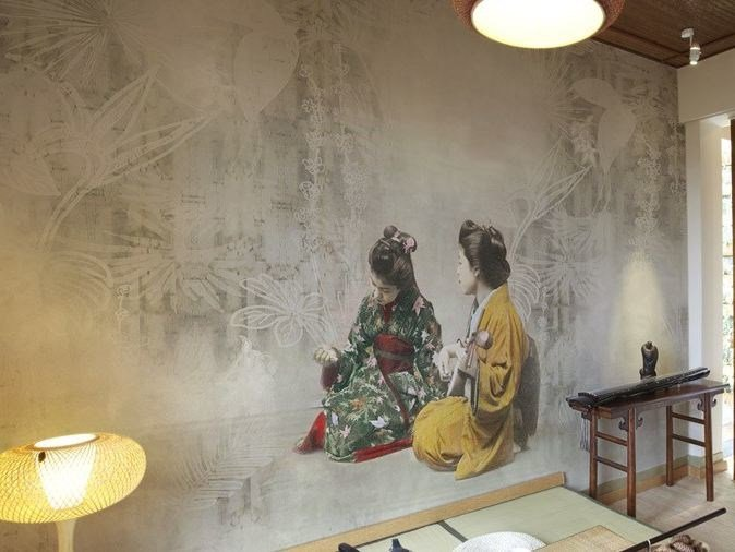 Washable vinyl wallpaper YUUGEN by GLAMORA