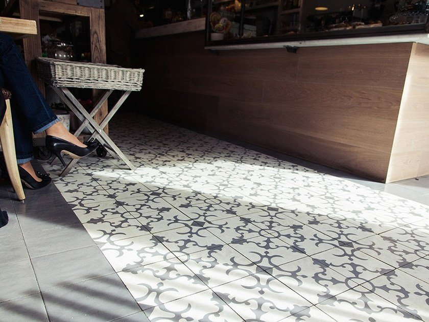 Cement wall tiles / flooring CLA_CB_18 by enticdesigns